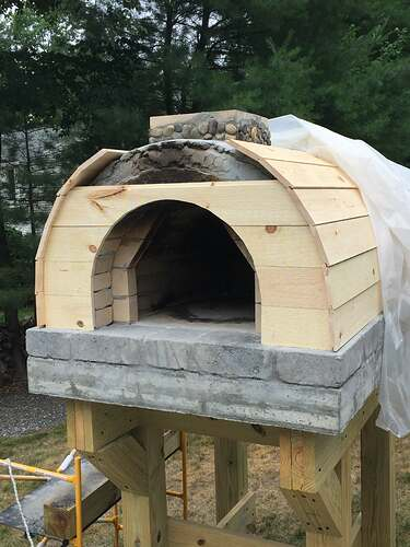 Building a Wood Fired Pizza Oven (41)