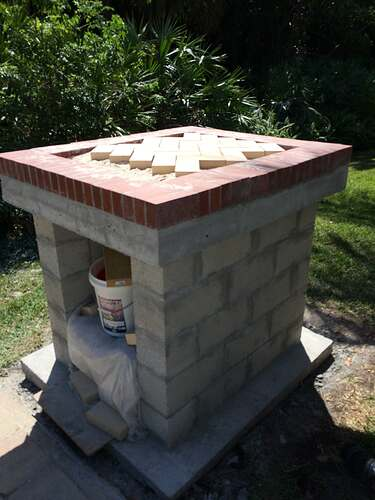 Building An Outdoor Oven (6)