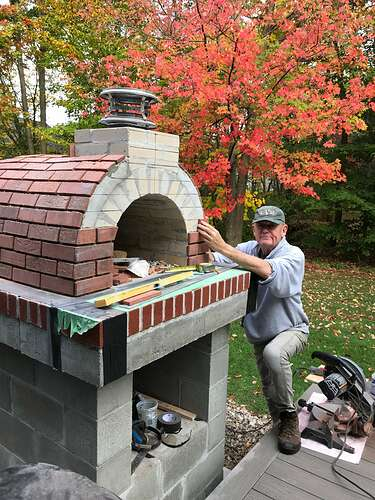 How To Make A Wood Fired Pizza Oven (37)