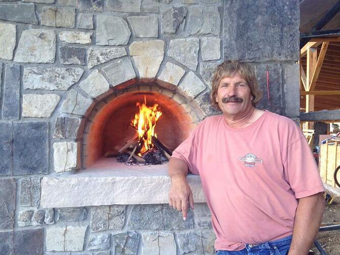 Fireplace Pizza Oven Combo (5)