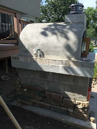 Simple Outdoor Oven (22)