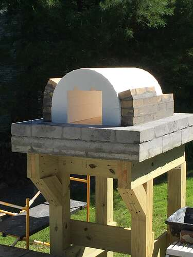 Building a Wood Fired Pizza Oven (13)