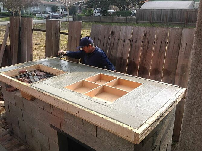 How To Build a Brick BBQ and Pizza Oven (2)