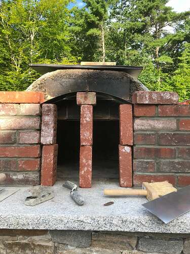 How To Build A Wood Fired Pizza Oven (77)