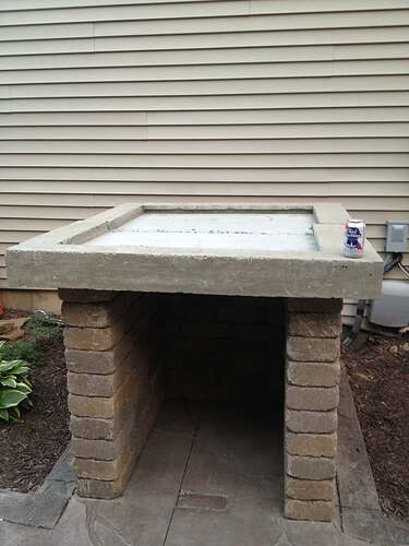 How To Build An Outdoor Brick Oven (52)