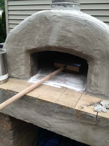 How To Build An Outdoor Brick Oven (74)