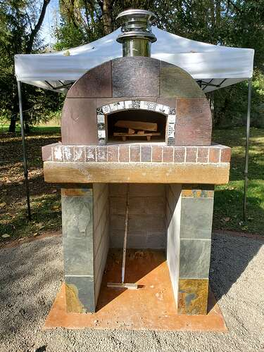 Outdoor Wood Burning Pizza Oven (24)