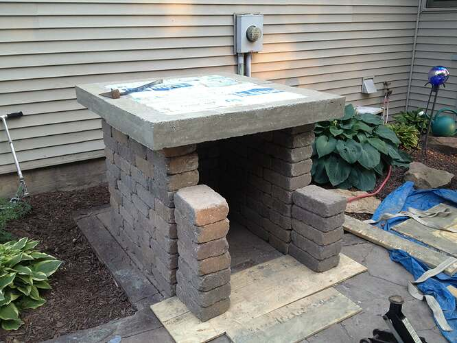 How To Build An Outdoor Brick Oven (51)