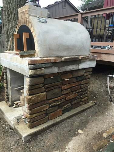 Simple Outdoor Oven (23)