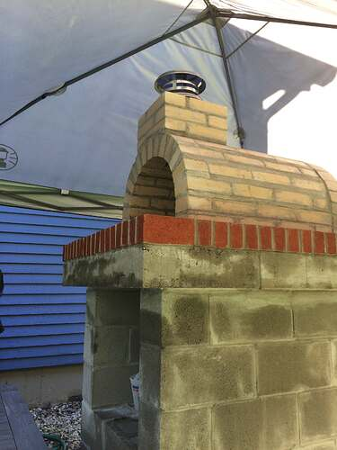 How To Make A Wood Fired Pizza Oven (31)