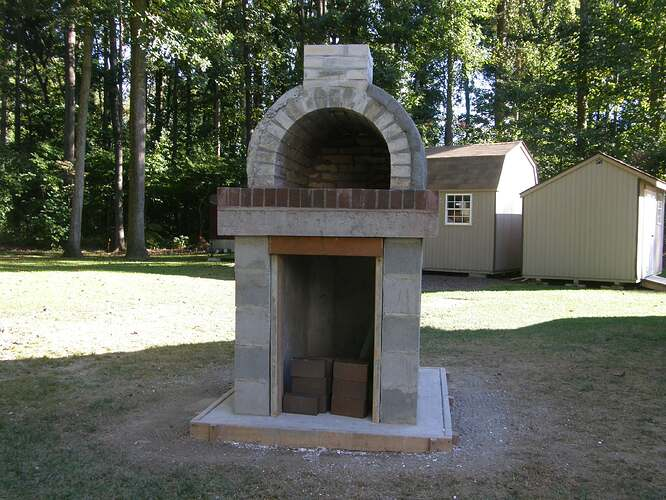 How To Make An Outdoor Pizza Oven (49)