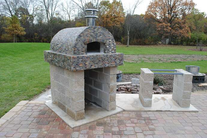 Outdoor Wood Fired Pizza Oven (48)