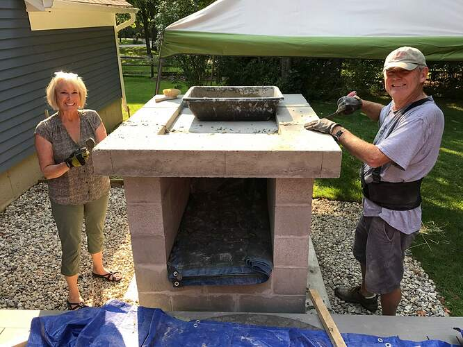 How To Make A Wood Fired Pizza Oven (21)