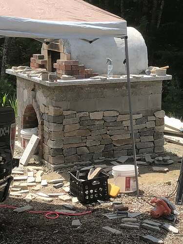 How To Build A Wood Fired Pizza Oven (83)