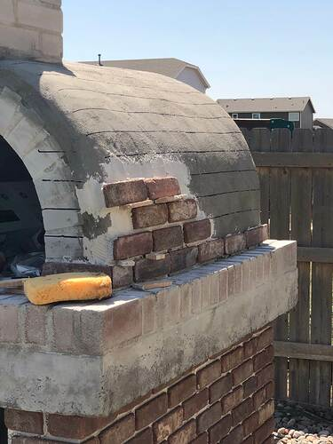 Building An Outdoor Wood Fired Oven (29)