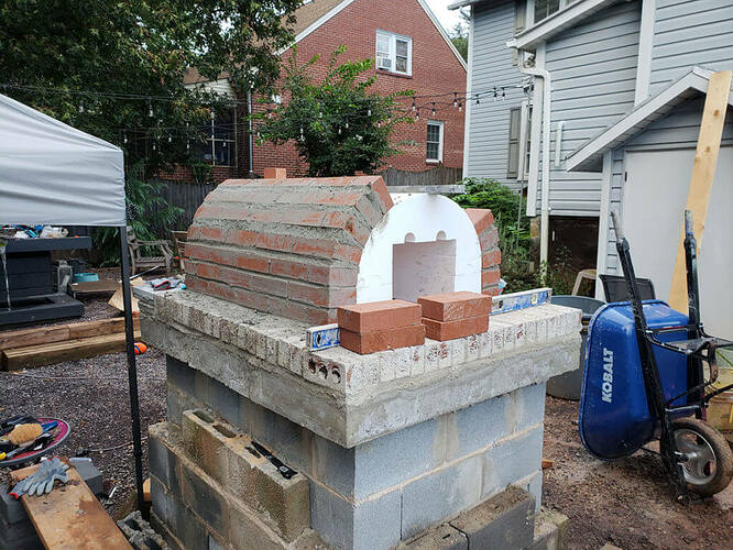 How To Build a Stone Pizza Oven (8)