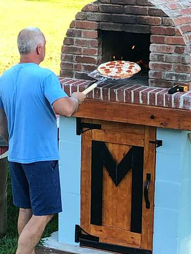 How To Build a Pizza Oven at Home (58)