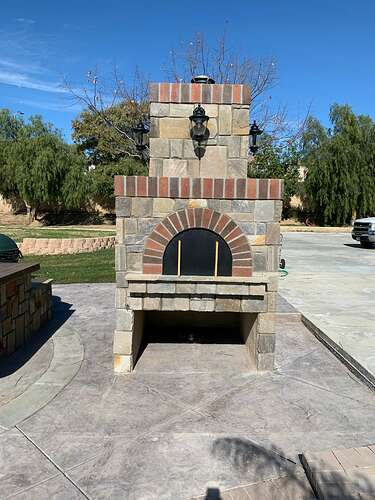 Pizza Oven with Lights (2)