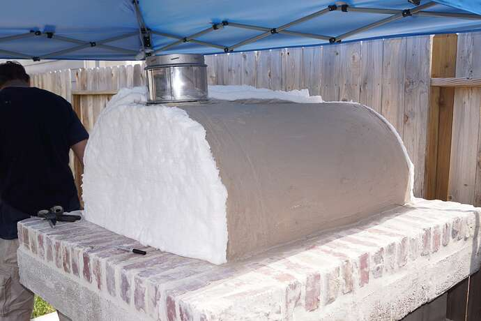 Refractory Cement Pizza Oven (99)