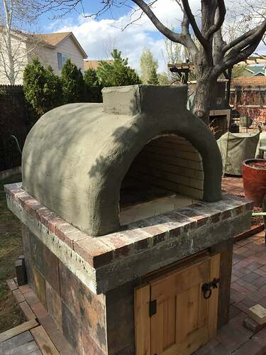 Homemade Outdoor Pizza Oven (36)