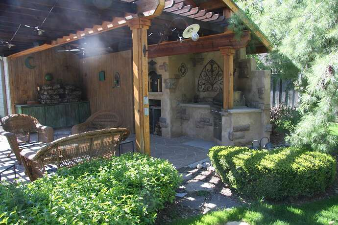 Wood Fired Pizza Oven and BBQ (3)