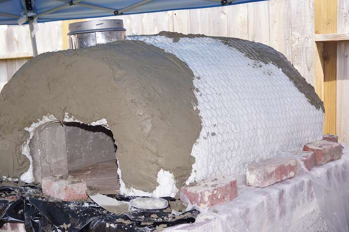 Refractory Cement Pizza Oven (109)