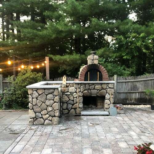 Outdoor Stone Pizza Oven (3)