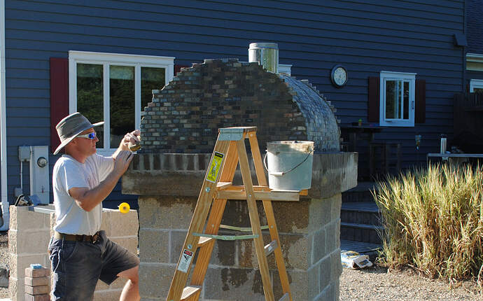 Outdoor Wood Fired Pizza Oven (39)