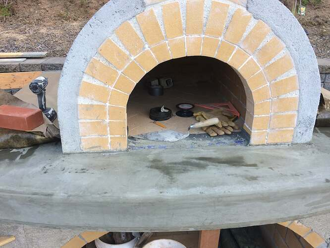 Pizza Oven Over Fireplace (15)