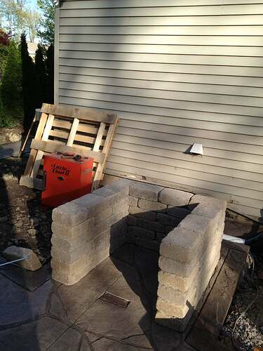 How To Build An Outdoor Brick Oven (8)