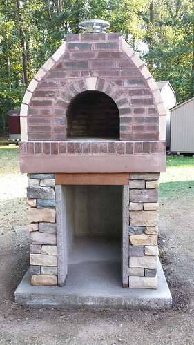 How To Make An Outdoor Pizza Oven (76)