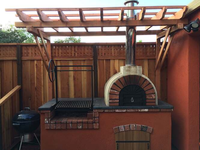 How To Build a Brick BBQ and Pizza Oven (22)