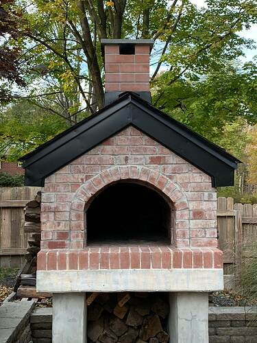 Pizza Oven Gabled Roof (1)