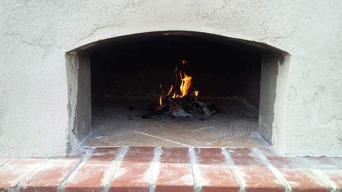 DIY Wood Fired Pizza Oven (48)