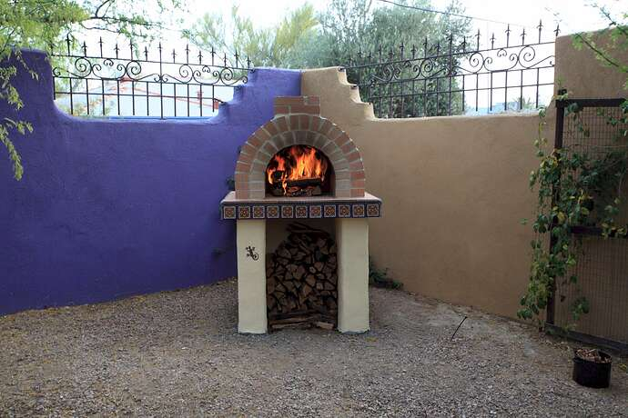Building a Wood Fired Oven (7)