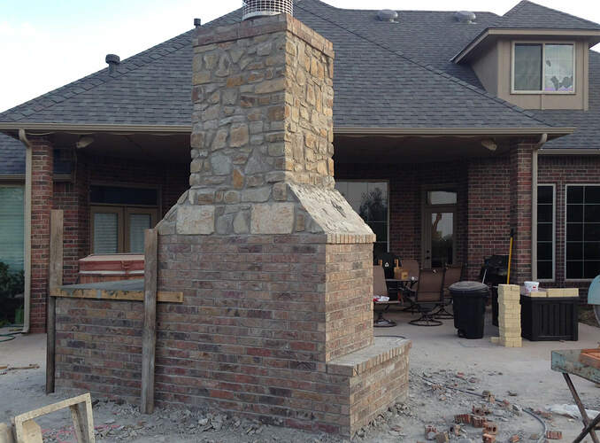 Large Outdoor Fireplace (8)