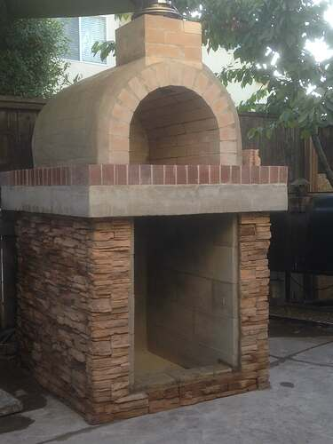 How To Build a Brick Pizza Oven (5)