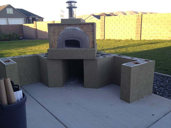 How To Build A Wood Fired Oven (28)