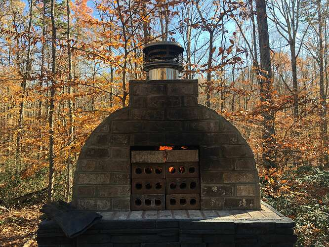 Wood Fired Brick Oven (130)