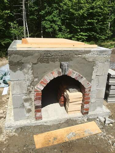 How To Build A Wood Fired Pizza Oven (38)