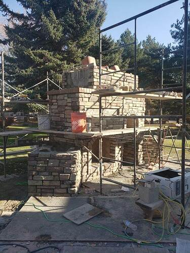How To Build An Outdoor Fireplace (2)