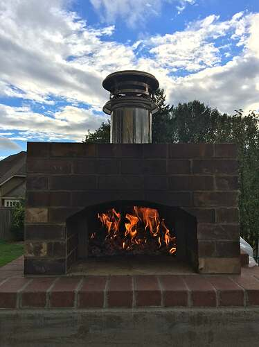 Home Made Pizza Oven (38)