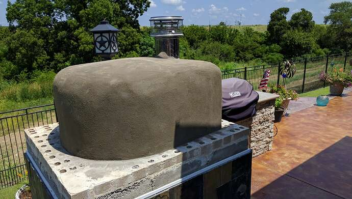 How To Make A Pizza Oven (41)