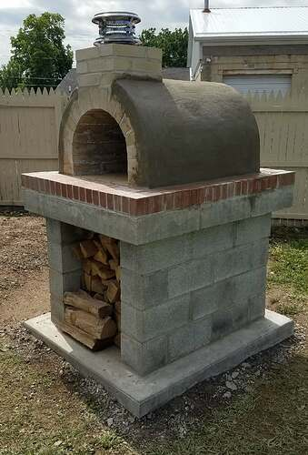 Making An Outdoor Oven (25)