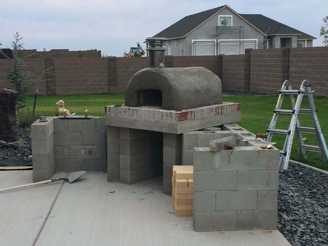 How To Build A Wood Fired Oven (25)