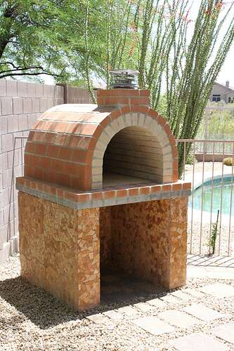 How To Build a Wood Fired Brick Oven (15)