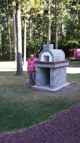 How To Make An Outdoor Pizza Oven (38)