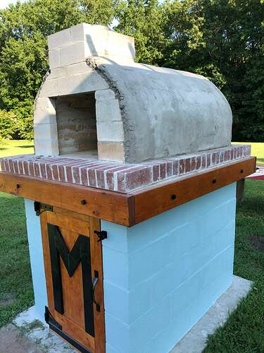 How To Build a Pizza Oven at Home (57)