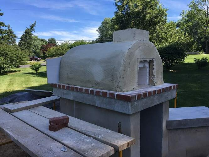 How To Build An Italian Pizza Oven (22)