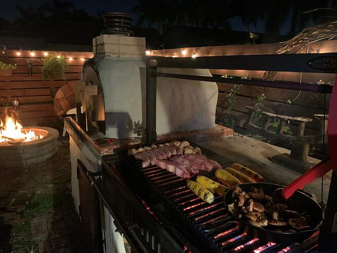 Outdoor Oven Grill